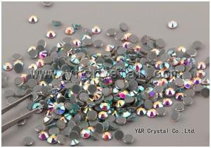 Super Shining Strong Glue China Hot Fix Rhinestone For Garment Accessory