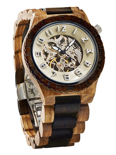 chinese mechanical wood watch seagull movement wood watch automatic wood watch men