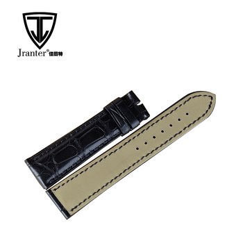 18mm Width Crocodile Leather Watch Band For Apple Watch