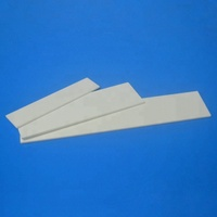 High Temperature Heat Resistant 95% 99% 99.5% Al2o3 Alumina Ceramic Plate