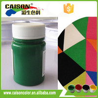 Textile screen printing colors with acrylic binder