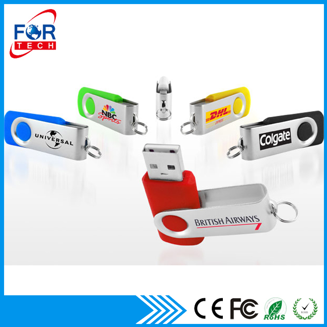 2017 Trending Products Nice Gifts USB 2gb 4gb Swivel/ Twister USB Flash Drive With Logo