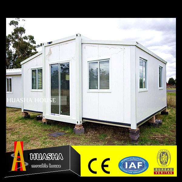Modern high quality 20ft modified expandable container house for family living