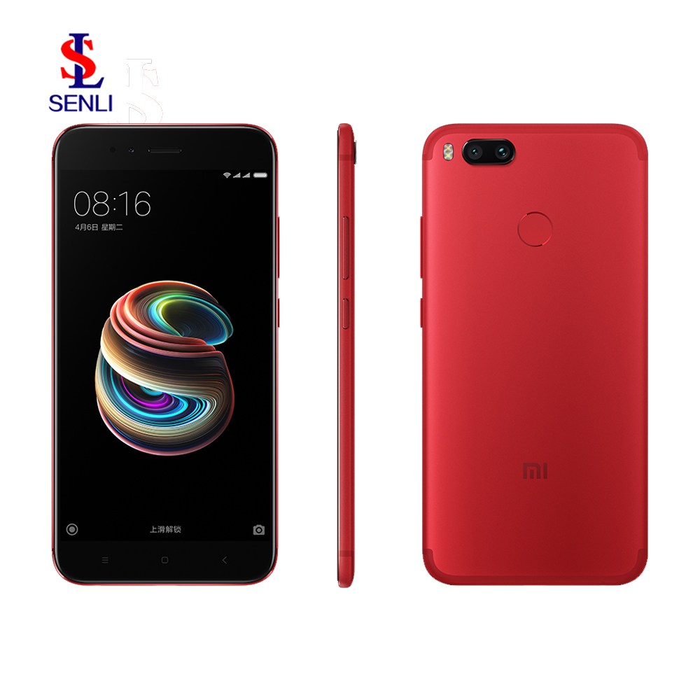 "Newest Original Xiaomi Mi 5X 4GB RAM 64GB Snapdragon 625 Octa Core Mobile Phone Red Limited Edition Dual SIM 5.5"" Smart Phone"