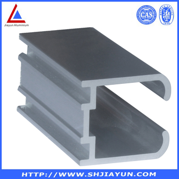 aluminum u channel rail u shape aluminum extrusion. Black Bedroom Furniture Sets. Home Design Ideas