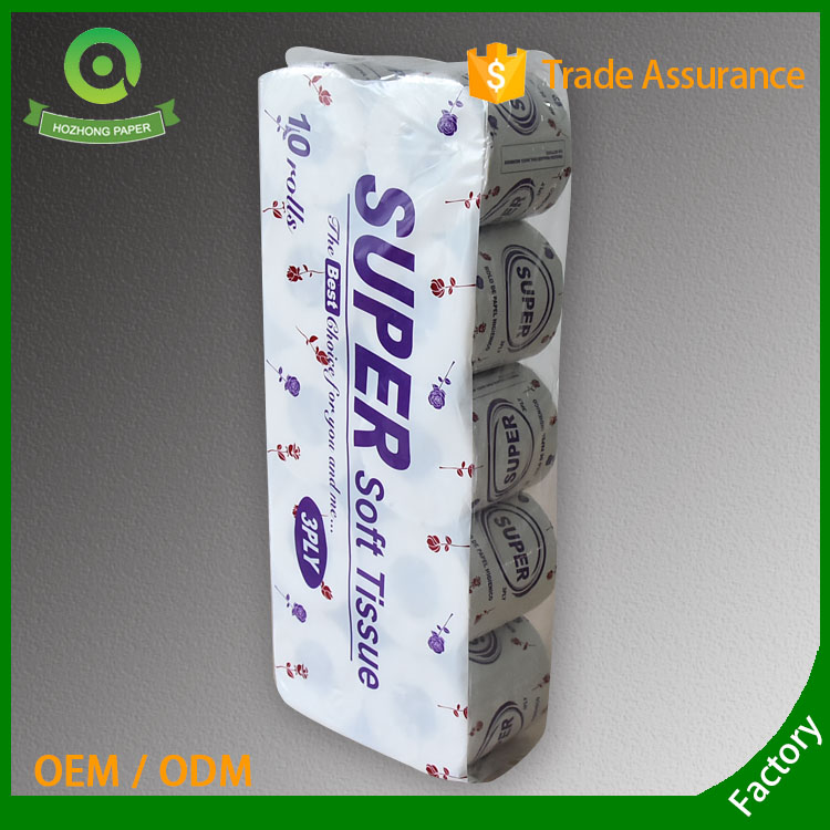 wholesale 3ply  high quality virgin material toilet paper/toilet tissue/tissue paper