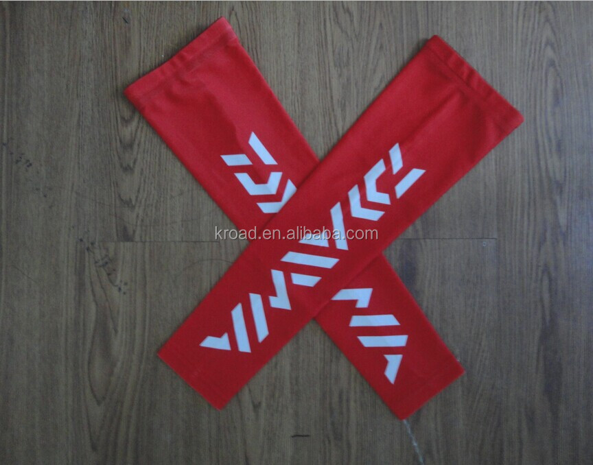 China manufacturer Custom design heat transfer sublimation compression arm sleeve no minimum
