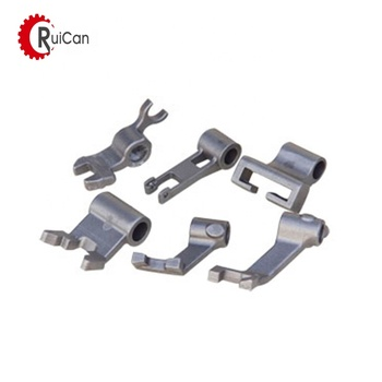 OEM customized investment casting process parts rear mount housing intermediate stainless steel flange bracket