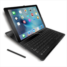 "Detachable Wireless Bluetooth Keyboard Case for iPad Pro 12.9"" with Multi-Angle Stand For iPad Pro"
