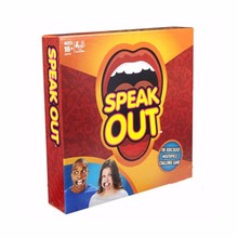 2016 unique family christmas gifts intelligent board games speak out