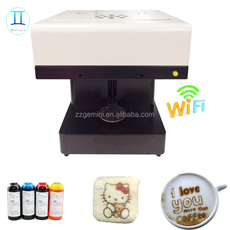 Professional Commecial Edible Food 3D coffee Printer