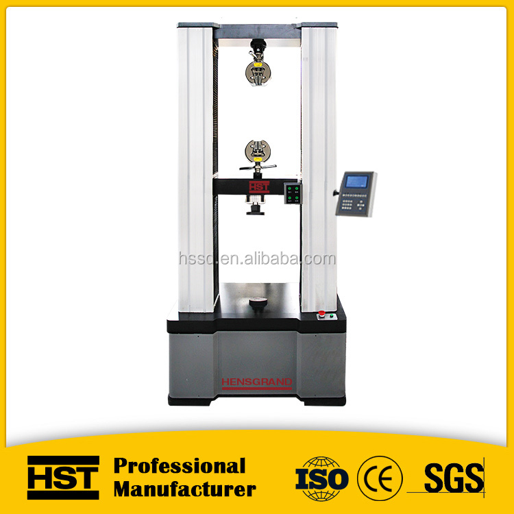 10T metal steel material universal testing machine for electronic mechanics