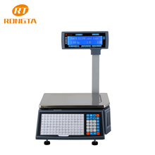 NTEP retail label printing electronic scale with printer RLS1000