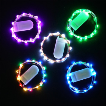 1M 2M 3M Copper Wire LED String Lights Night Light Holiday lighting For Garland Fairy Christmas Tree Wedding Party Decoration