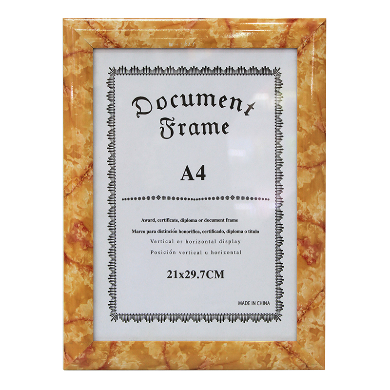 Lowest Price Simply Cheap A4 Document Frame Diploma Frame