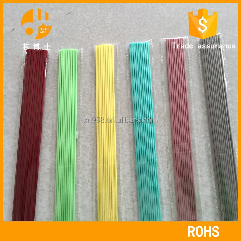 decorative reed stick diffuser with sticks polyester fiber stick