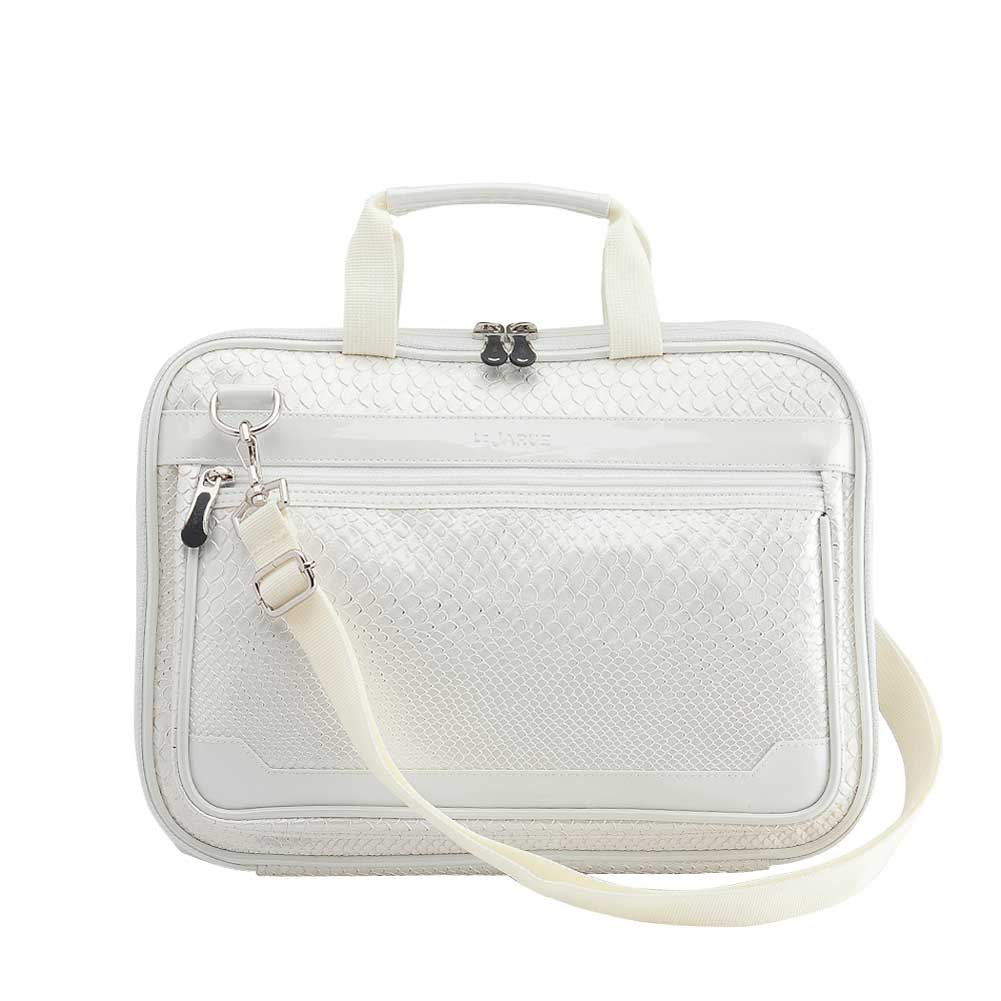 bff9d715edeb Get Quotations · Lejarue Women s Metallic Snake Embossed 15 Inch Macbook  Pro Bag  15.6 Inch Laptop Bag -
