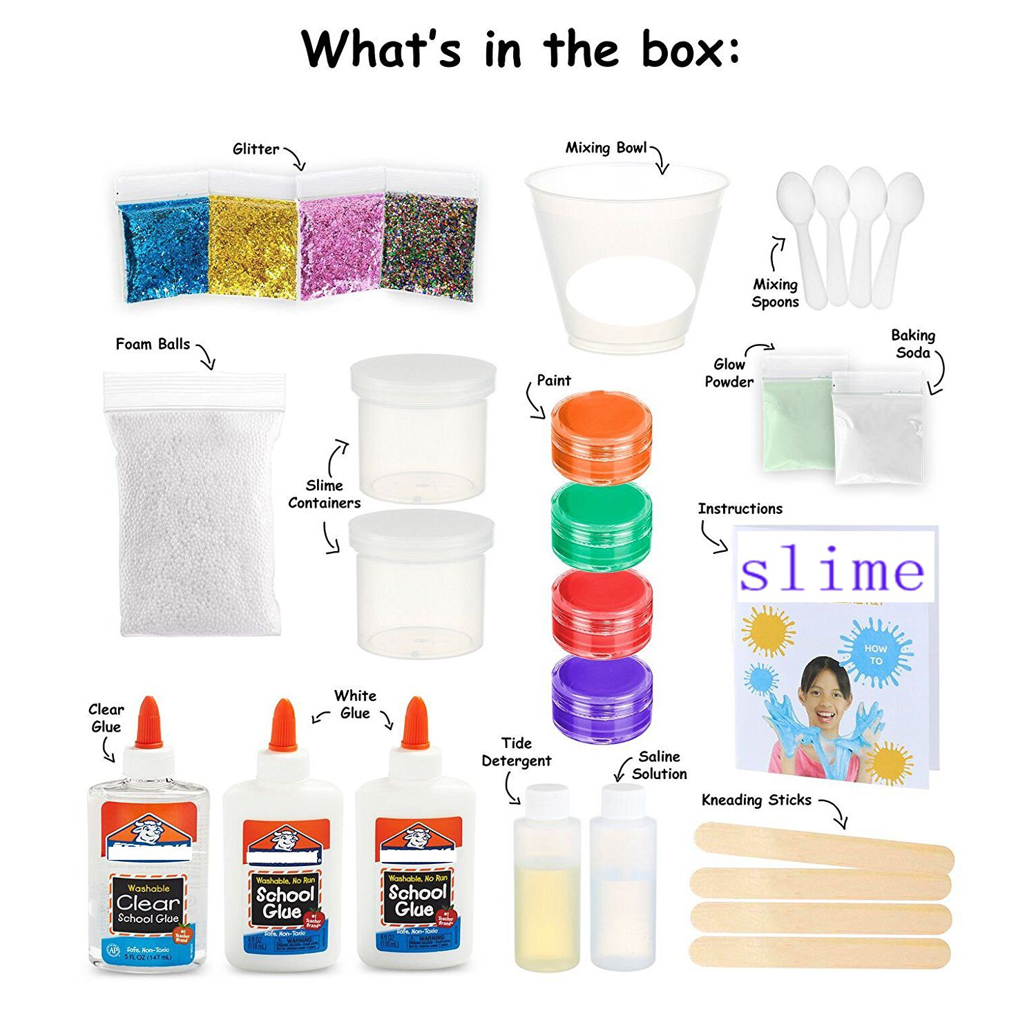 yuyao dn scientific slime manufacturer Diy Slime Making Kit For Kids Non Toxic
