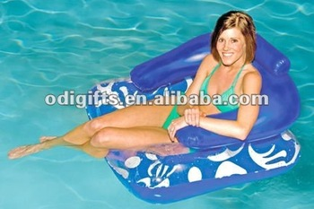 Inflatable Swimming Pool Float Lounger Chair Water Floating Chair  Items,Pool Chair - Buy Water Floating Chair Items,Pvc Floating  Chair,Plastic ...