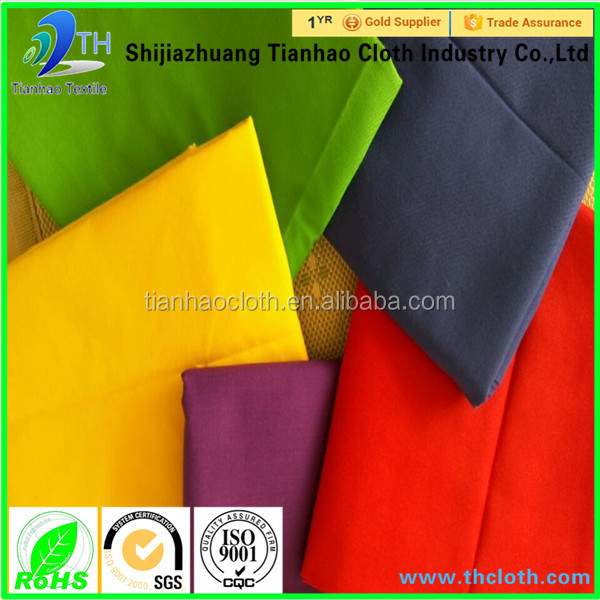 wholesale 65 polyester 35 cotton fabric/92 polyester 8 spandex fabric/cotton polyester spandex fabric