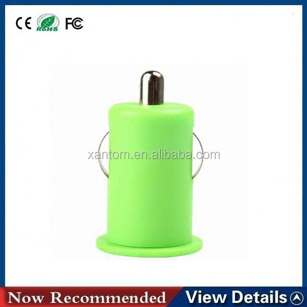 Universal Mini 5v 1a Dual Usb Car Charger For Iphone 3g 3gs 4 4s 5 Samsung Galaxy S3 S4 Cell Mobile Phone Charger Adapter