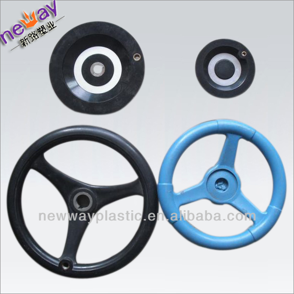 Plastic injection molding manufacture for plastic steering wheel