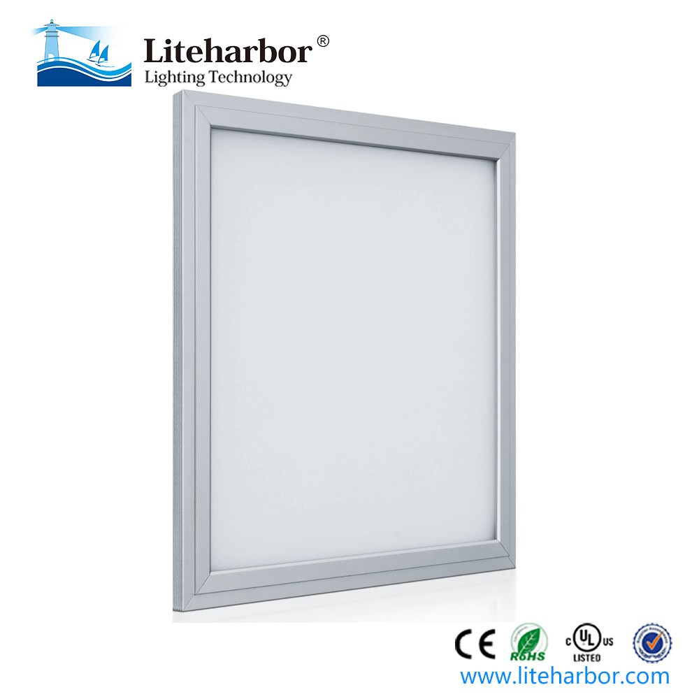 UL DLC approved 600X600 SMD2835 40W 3400lm dimmable led square panel down light