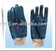 SLJsafety Blue Nitrile fully coated glove