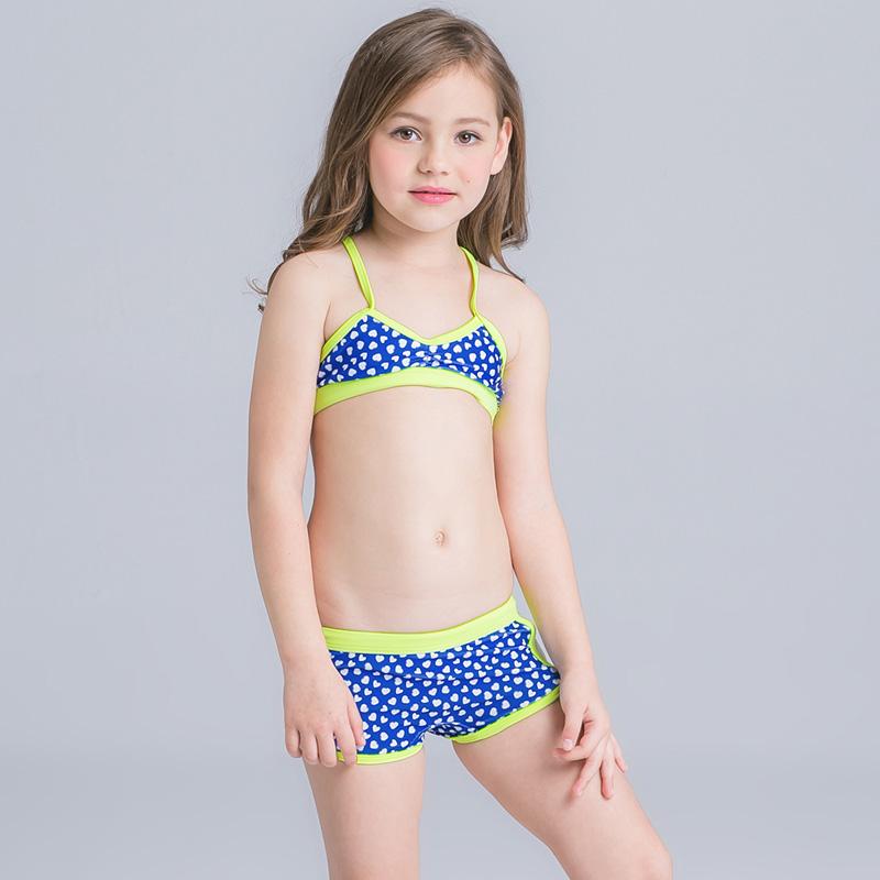 70e5c941d79 2 Piece Children cute kids Swimwear 2018 Swimsuit Bikini for BABY GIRL