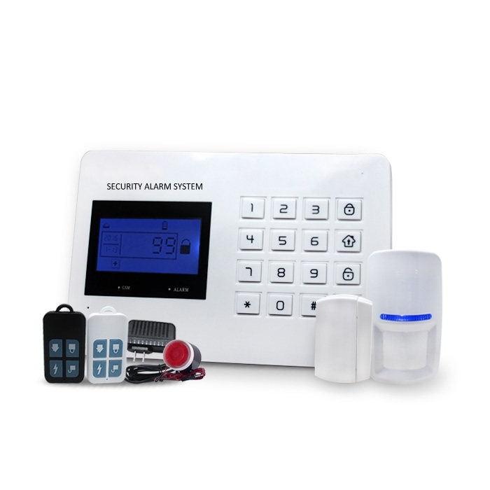 Wired wireless <strong>GSM</strong>&PSTN Home Alarm System, security <strong>GSM</strong> auto call SMS anti-theft home alarm system