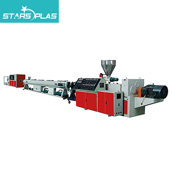 Plastic PVC Pipe Extrusion Tube Production Line