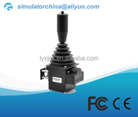 Operating lever potentiometer joystick for coal mine hoist