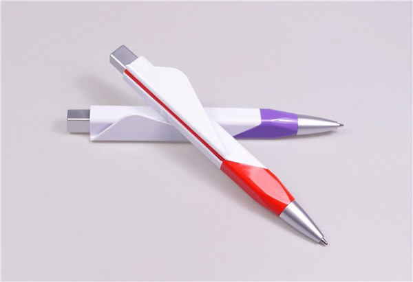 Office pen flat ballpoint pen for smoothing writing