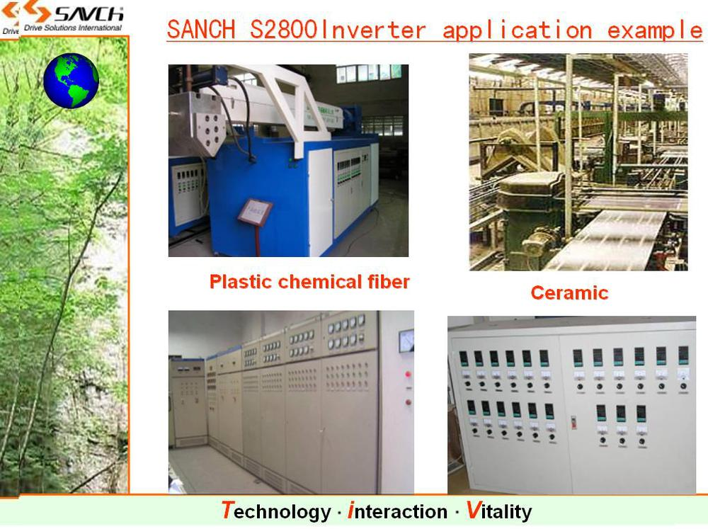Sanch S2800 220kw high torque sensorless vector control 3 phase motor vfd inverter