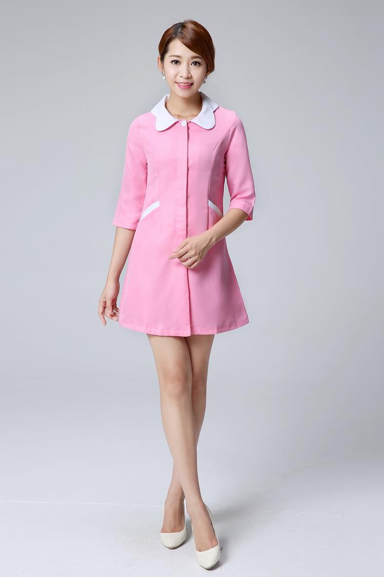 Online Get Cheap Pink Lab Coats Aliexpress Com Alibaba