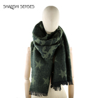Acrylic winter green shawl scarf wholesale scarves from China