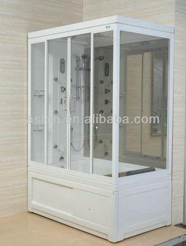 Foshan Steam Bath Rooms/sex Wet Steam Cabins/sauna Shower Bathtub  Combinations