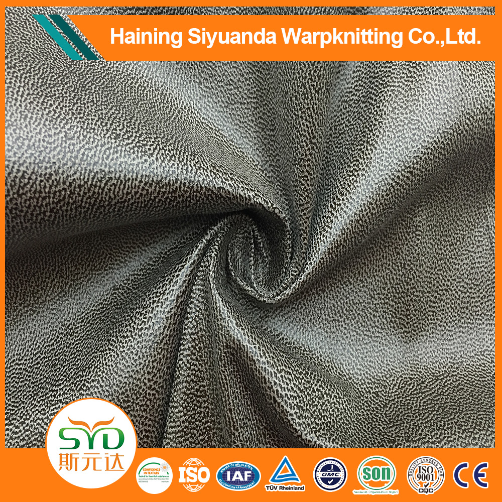 Wholesale good quality shoes fabric suede leather material for shoes