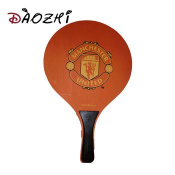 Mdf Turuncu Pantone Boya Ahsap Ping Pong Plaj Raket Paddle Topu