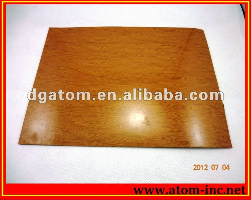 PVC sole cork plain sheet from Atom Shoes Material Ltd.