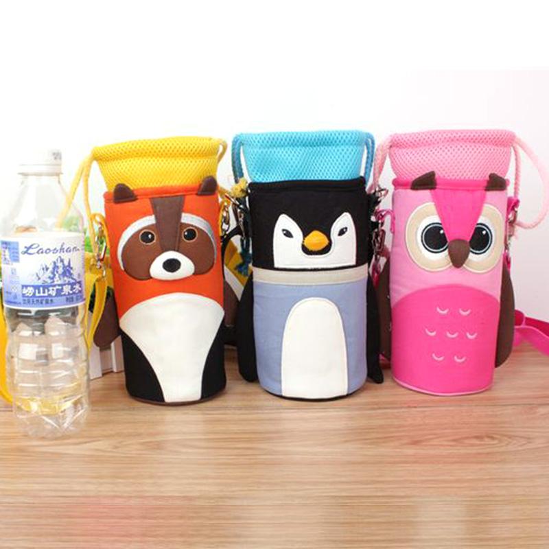 Изоляции мешки чашки комплект бутылка воды хранения мешок-термос соломы чашки пакеты подачи теплые обложка бутылочки хип-huggers