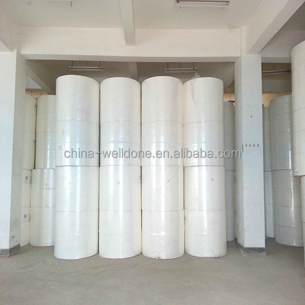 Recycling Wood Fluff Pulp Roll for Hygiene Products