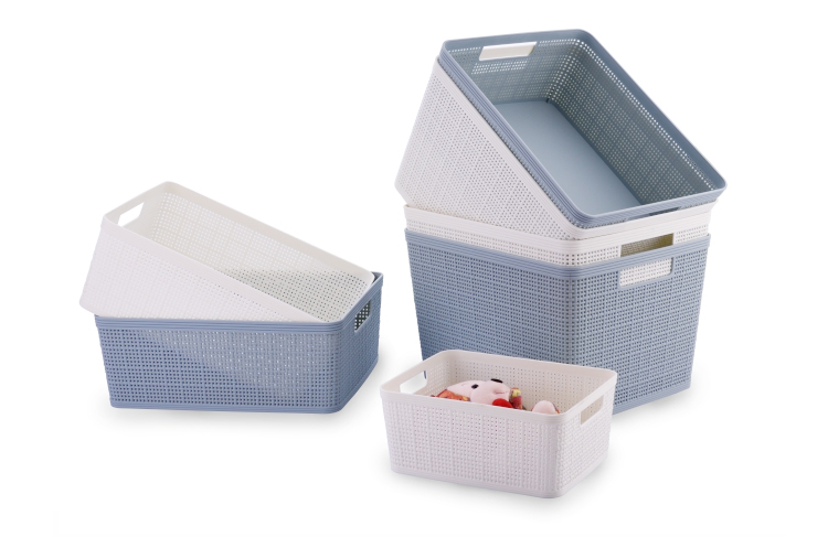 Multi-purpose New Style PP Plastic Snack Storage Basket