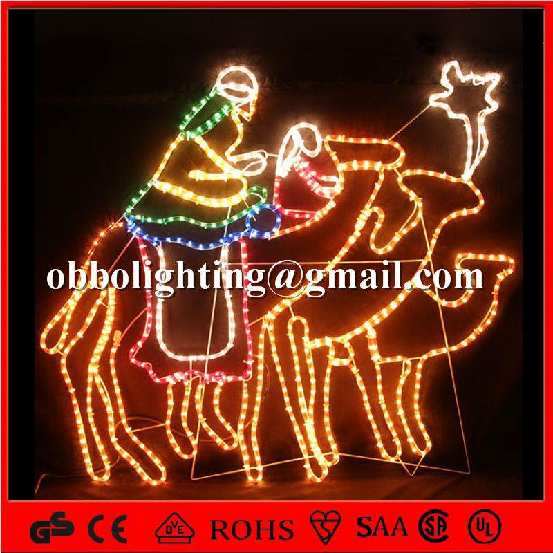 weihnachtsschmuck beleuchtet krippen weiser mann und kamel. Black Bedroom Furniture Sets. Home Design Ideas