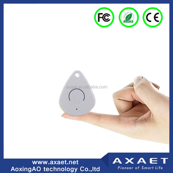 Drop Shape BLE Thinnest Bluetooth iBeacon with Pushing Button