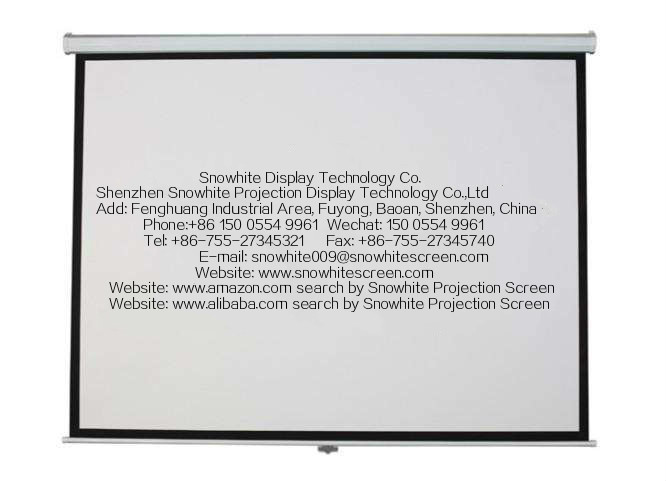 120''Inch 16:9 Luxury Tab-Tensioned Screen