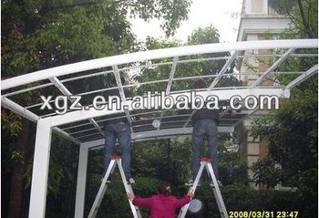 Prefabricated Steel Car Parking Canopy & Prefabricated Steel Car Parking Canopy View car parking canopy ...