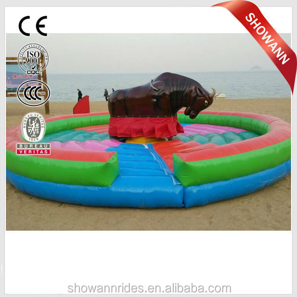 factory supplier inflatable mechanical bull rodeo simulator for sale bull wholesale