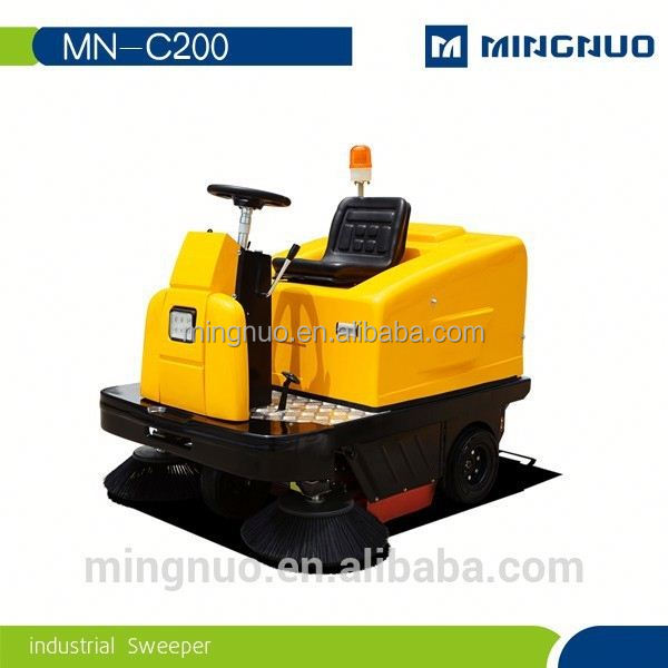 MN-C200 Electric Ride On Vacuum Street Sweeper Cleaner
