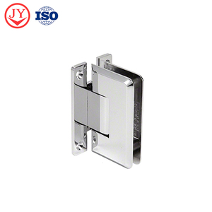 H Back Plate 90 degree Wall To Glass glass door torsion shower hinge